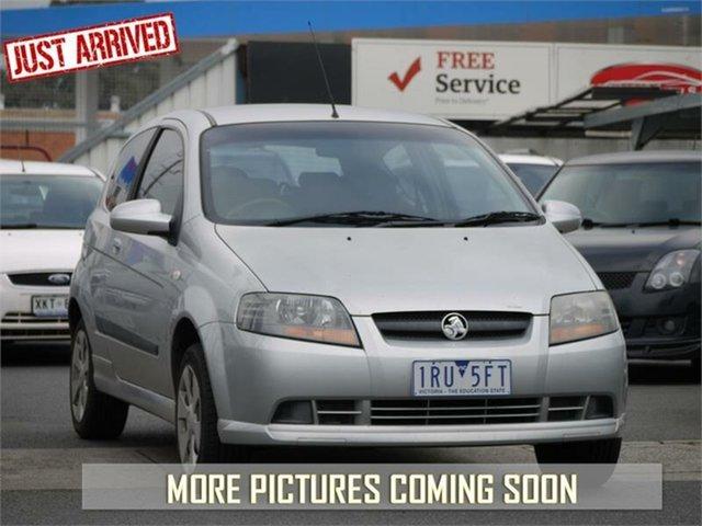 Used Holden Barina TK , 2008 Holden Barina TK Silver Automatic Hatchback