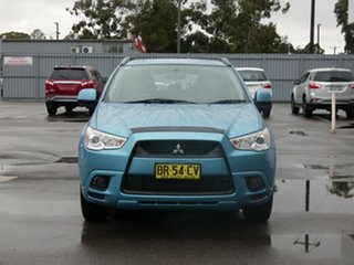 2011 Mitsubishi ASX XA MY11 2WD Blue 6 Speed Constant Variable Wagon.