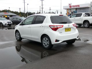 2017 Toyota Yaris NCP131R SX White 4 Speed Automatic Hatchback
