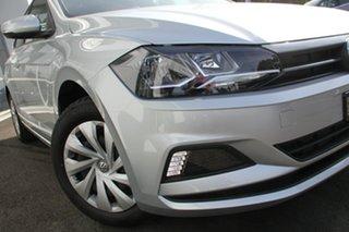 2020 Volkswagen Polo AW MY20 70TSI DSG Trendline Silver 7 Speed Sports Automatic Dual Clutch.