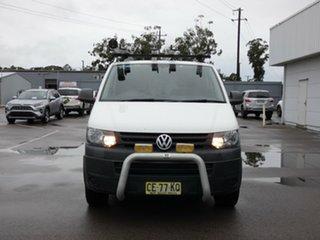 2015 Volkswagen Transporter T5 MY15 TDI340 SWB DSG White 7 Speed Sports Automatic Dual Clutch Van.