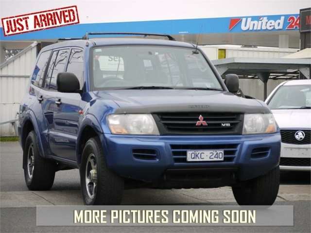 Used Mitsubishi Pajero NM GLX, 2000 Mitsubishi Pajero NM GLX Blue Manual Wagon