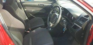 2014 Suzuki Swift FZ MY14 GL Red 4 Speed Automatic Hatchback