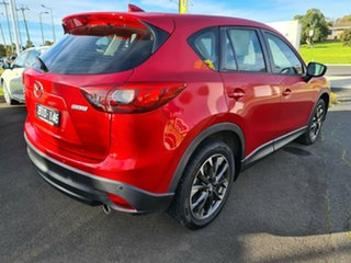 2016 Mazda CX-5 KE1032 Akera SKYACTIV-Drive AWD Red 6 Speed Sports Automatic Wagon