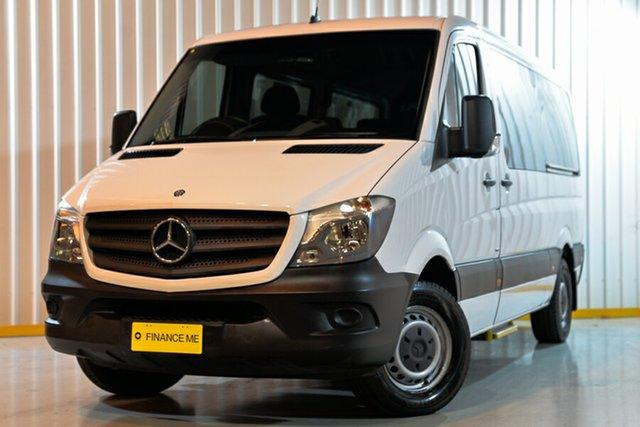 Used Mercedes-Benz Sprinter 906 MY14 Transfer, 2015 Mercedes-Benz Sprinter 906 MY14 Transfer White 7 Speed Automatic Bus