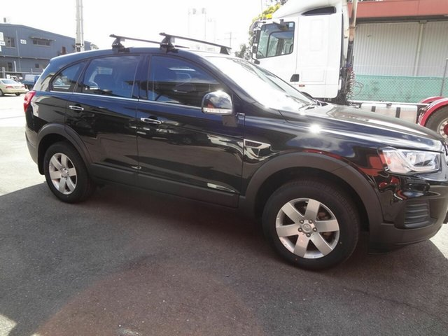 Used Holden Captiva CG MY16 5 LS (FWD) Coopers Plains, 2016 Holden Captiva CG MY16 5 LS (FWD) Black 6 Speed Automatic Wagon