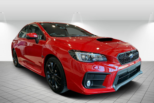 Used Subaru WRX V1 MY19 Lineartronic AWD, 2019 Subaru WRX V1 MY19 Lineartronic AWD Red 8 Speed Constant Variable Sedan
