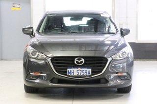 2017 Mazda 3 BN MY17 Maxx Grey 6 Speed Automatic Hatchback.