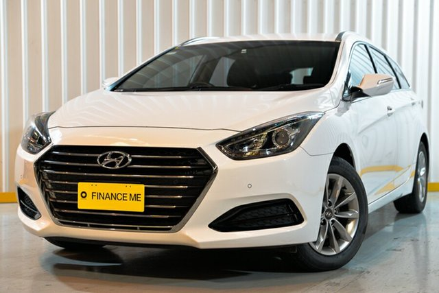 Used Hyundai i40 VF4 Series II Active Tourer D-CT, 2017 Hyundai i40 VF4 Series II Active Tourer D-CT White 7 Speed Sports Automatic Dual Clutch Wagon
