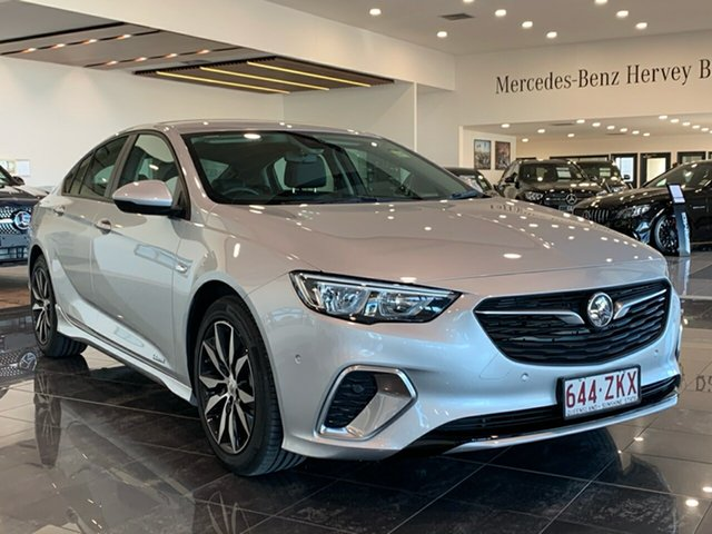 Demo Holden Commodore ZB MY18 RS Liftback AWD, 2018 Holden Commodore ZB MY18 RS Liftback AWD Nitrate 9 Speed Sports Automatic Liftback