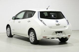 2014 Nissan Leaf ZE0 White 1 Speed Automatic Hatchback