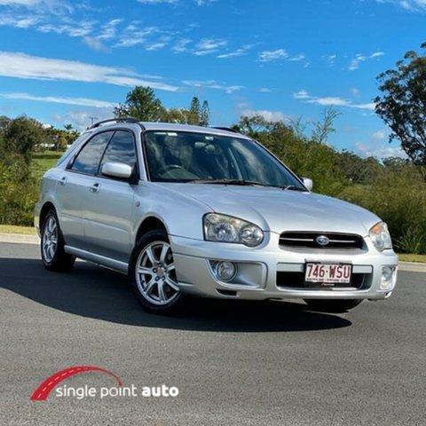 Used Subaru Impreza S MY04 GX AWD, 2004 Subaru Impreza S MY04 GX AWD Silver 4 Speed Automatic Hatchback