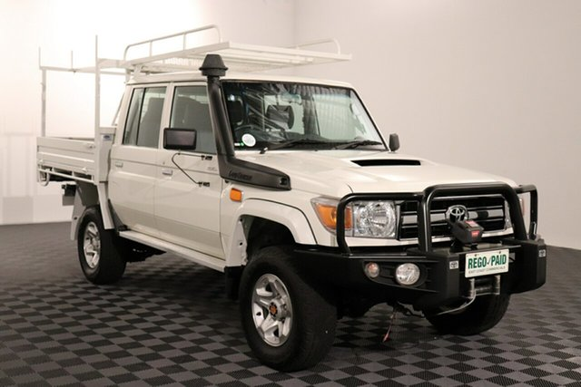 Used Toyota Landcruiser VDJ79R GXL Double Cab, 2015 Toyota Landcruiser VDJ79R GXL Double Cab 5 speed Manual Cab Chassis