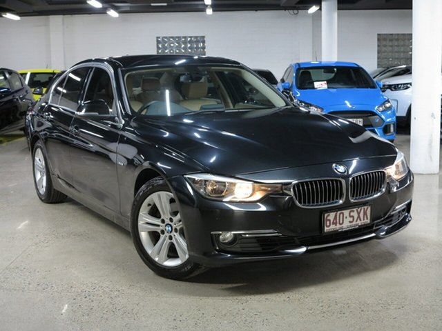 Used BMW 320i F30 MY0813 , 2013 BMW 320i F30 MY0813 Black 8 Speed Sports Automatic Sedan