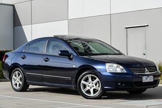 2005 Mitsubishi 380 DB LS Blue 5 Speed Sports Automatic Sedan.