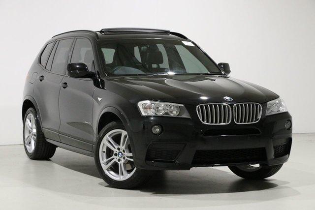 Used BMW X3 F25 MY13 xDrive30d, 2013 BMW X3 F25 MY13 xDrive30d Black 8 Speed Automatic Wagon