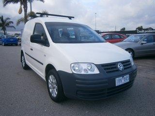 2006 Volkswagen Caddy 2KN SWB White 5 Speed Manual Van.