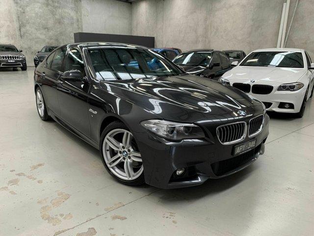 Used BMW 520d F10 LCI M Sport Steptronic, 2013 BMW 520d F10 LCI M Sport Steptronic Grey 8 Speed Sports Automatic Sedan