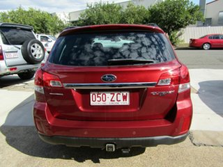 2010 Subaru Outback B5A MY10 2.5i Lineartronic AWD Premium Maroon 6 Speed Constant Variable Wagon.
