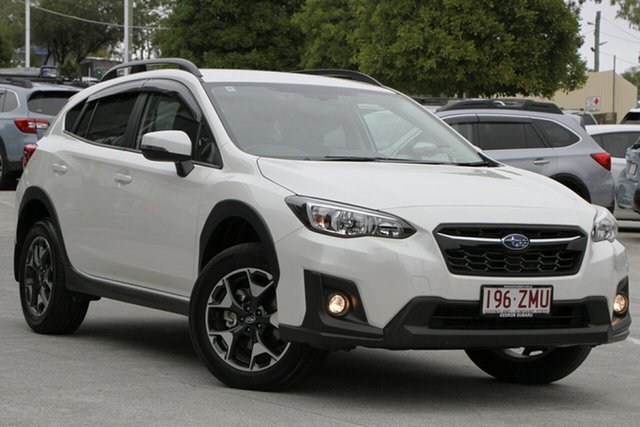 Demo Subaru XV G5X MY20 2.0i-L Lineartronic AWD, 2019 Subaru XV G5X MY20 2.0i-L Lineartronic AWD Crystal White 7 Speed Constant Variable Wagon
