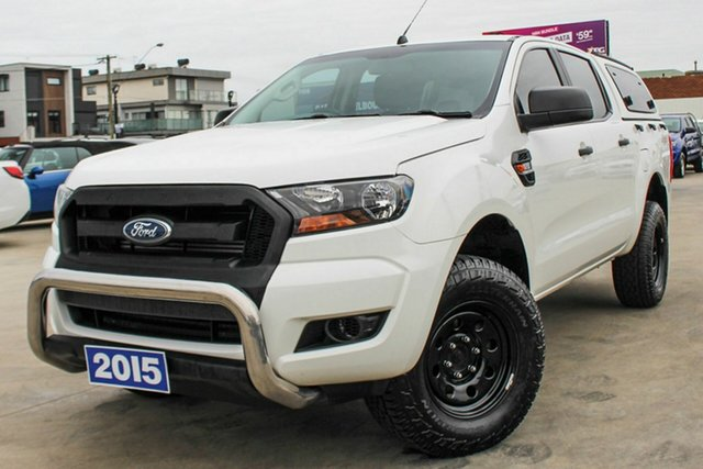Used Ford Ranger PX MkII XL, 2015 Ford Ranger PX MkII XL White 6 Speed Manual Utility