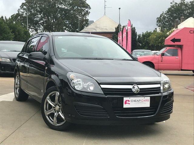 Used Holden Astra AH MY06 CD Equipe, 2006 Holden Astra AH MY06 CD Equipe Black 5 Speed Manual Hatchback
