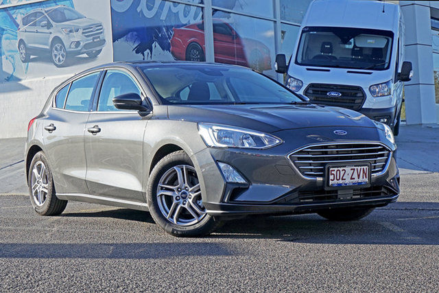 Used Ford Focus SA 2019.25MY Trend, 2019 Ford Focus SA 2019.25MY Trend Grey 8 Speed Automatic Hatchback
