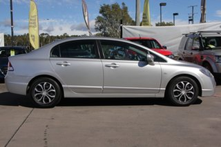 2010 Honda Civic 8th Gen MY10 VTi Silver 5 Speed Automatic Sedan.