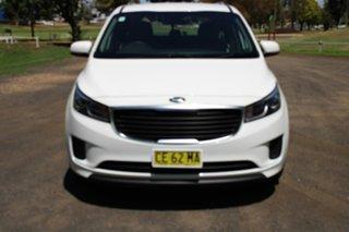 2015 Kia Carnival YP S White Sports Automatic.