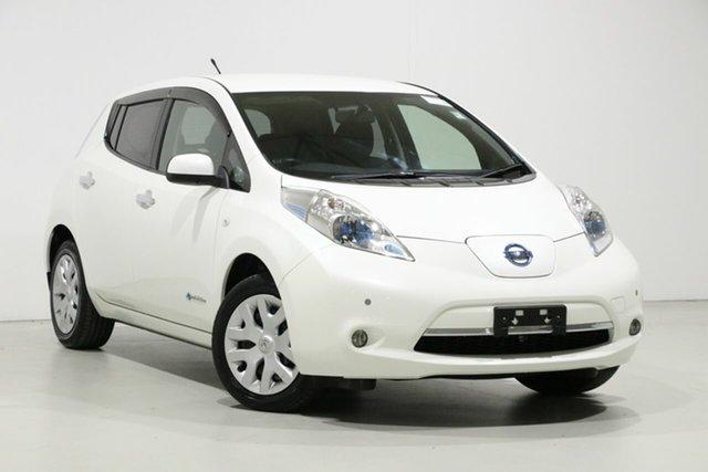 Used Nissan Leaf ZE0 , 2014 Nissan Leaf ZE0 White 1 Speed Automatic Hatchback