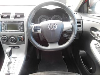 2011 Toyota Corolla ZRE152R MY11 Conquest Red 4 Speed Automatic Sedan