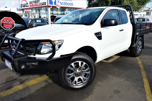 Used Ford Ranger PX XL Super Cab, 2013 Ford Ranger PX XL Super Cab White 6 Speed Manual Utility