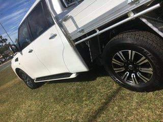 2019 Nissan Patrol Y62 Series 5 MY TI White 7 Speed Automatic Dual Cab.