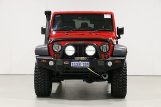 2014 Jeep Wrangler Unlimited JK MY13 Rubicon (4x4) Red 5 Speed Automatic Softtop.