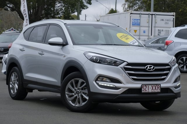 Used Hyundai Tucson TL2 MY18 Active 2WD, 2017 Hyundai Tucson TL2 MY18 Active 2WD Platinum Silver 6 Speed Sports Automatic Wagon