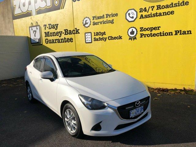 Used Mazda 2 DL2SAA Maxx SKYACTIV-Drive, 2017 Mazda 2 DL2SAA Maxx SKYACTIV-Drive White 6 Speed Sports Automatic Sedan