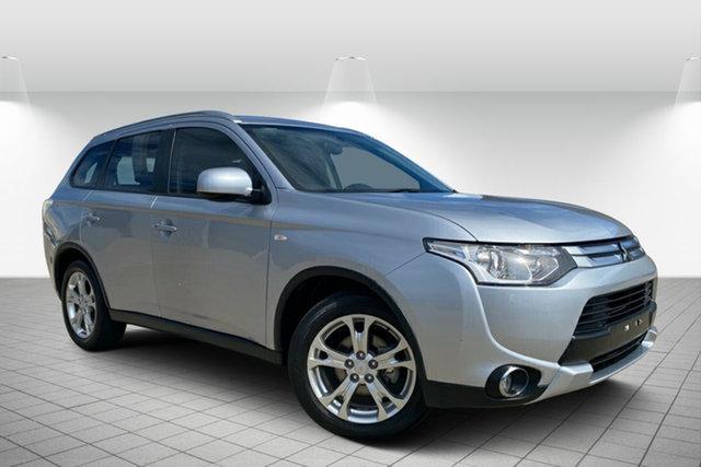 Used Mitsubishi Outlander ZJ MY14.5 ES 4WD, 2014 Mitsubishi Outlander ZJ MY14.5 ES 4WD Silver 6 Speed Constant Variable Wagon