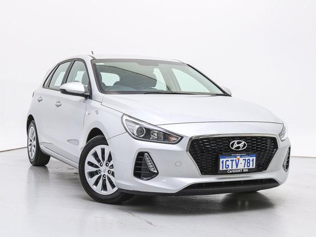 Used Hyundai i30 PD MY19 Go, 2019 Hyundai i30 PD MY19 Go Platinum Silver 6 Speed Automatic Hatchback