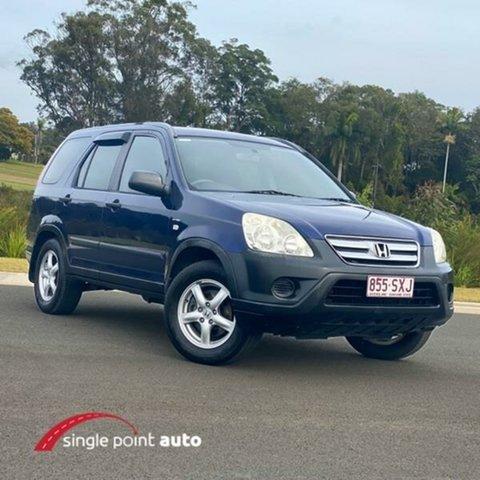 Used Honda CR-V RD MY2005 4WD, 2005 Honda CR-V RD MY2005 4WD Blue 5 Speed Manual Wagon