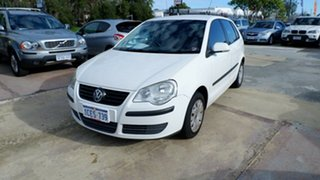 2006 Volkswagen Polo 9N MY2006 Match White 5 Speed Manual Hatchback.