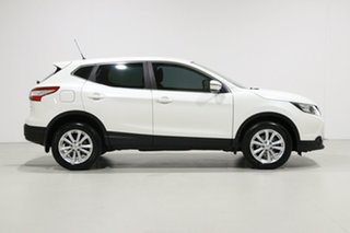 2015 Nissan Qashqai J11 ST White Continuous Variable Wagon