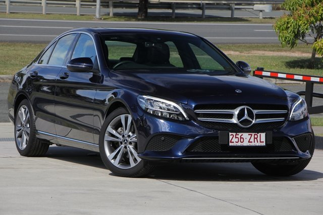 Used Mercedes-Benz C200 W205 800MY 9G-Tronic, 2019 Mercedes-Benz C200 W205 800MY 9G-Tronic Cavansite Blue 9 Speed Sports Automatic Sedan