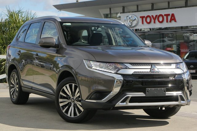 Used Mitsubishi Outlander ZL MY19 ES AWD, 2019 Mitsubishi Outlander ZL MY19 ES AWD Brown 6 Speed Constant Variable Wagon