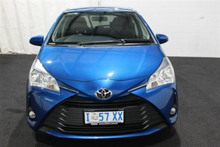 2018 Toyota Yaris NCP131R SX Blue 4 Speed Automatic Hatchback