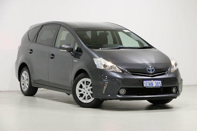 Used Toyota Prius v ZVW40R Hybrid, 2013 Toyota Prius v ZVW40R Hybrid Grey Continuous Variable Wagon