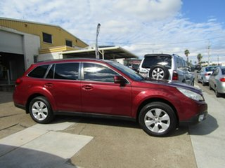 2010 Subaru Outback B5A MY10 2.5i Lineartronic AWD Premium Maroon 6 Speed Constant Variable Wagon