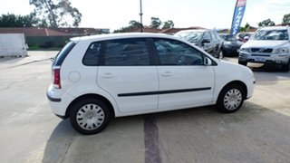 2006 Volkswagen Polo 9N MY2006 Match White 5 Speed Manual Hatchback