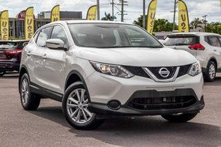 2017 Nissan Qashqai J11 ST White 1 Speed Constant Variable Wagon.