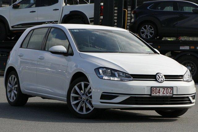 Demo Volkswagen Golf 7.5 MY20 110TSI DSG Comfortline, 2019 Volkswagen Golf 7.5 MY20 110TSI DSG Comfortline Pure White 7 Speed Sports Automatic Dual Clutch