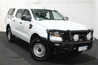 2018 Ford Ranger PX MkII 2018.00MY XL Double Cab White 6 Speed Sports Automatic Utility.